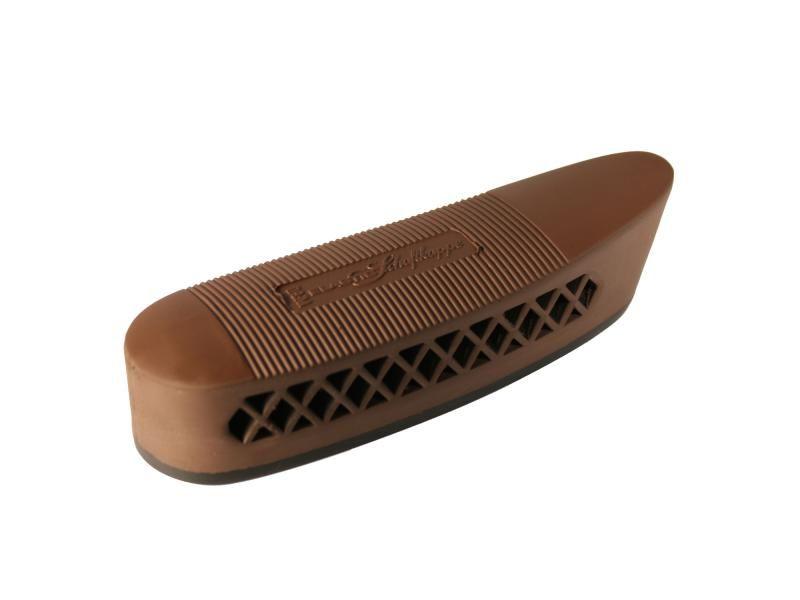 Gumená botka na pažbu 135x50x25 mm čierna/hnedá
