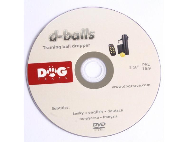 DVD výcvikový podávač loptičiek, d-balls