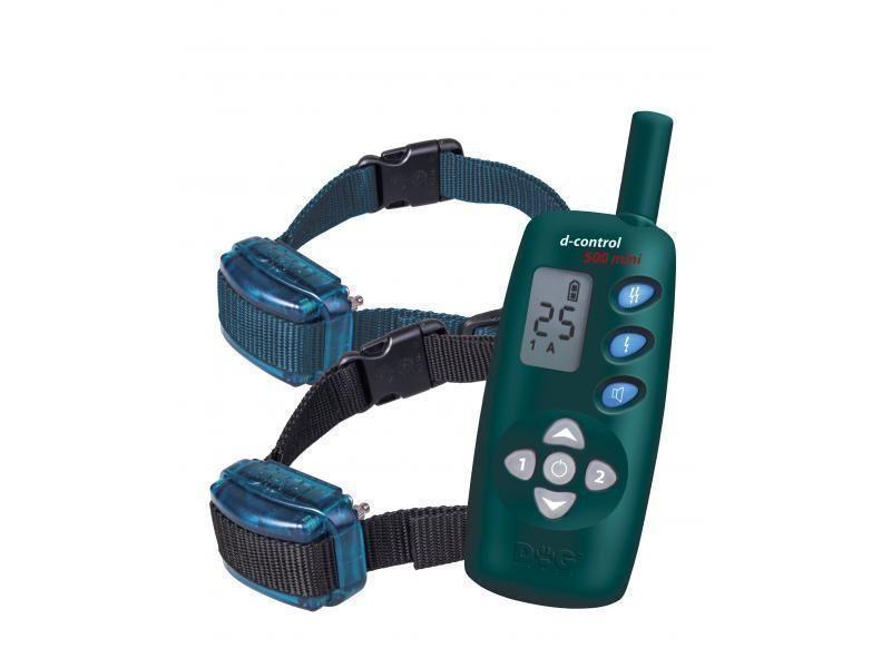 Elektronický výcvikový obojok Dogtrace d-control 502 mini pre dvoch psov
