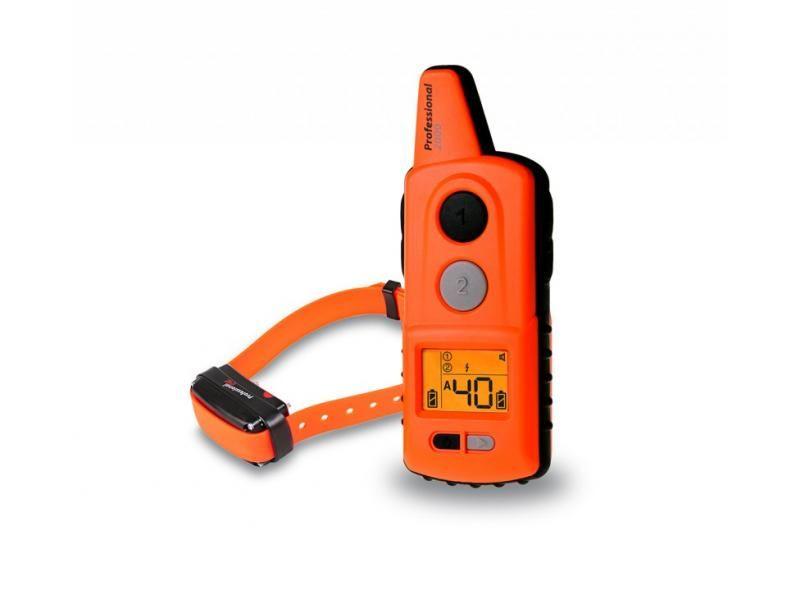 Elektronický výcvikový obojok Dogtrace d-control professional 2000 ONE - Orange