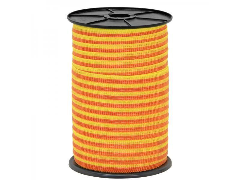 Páska 10mm nerez 4x0,16 250m žlto - oranžová