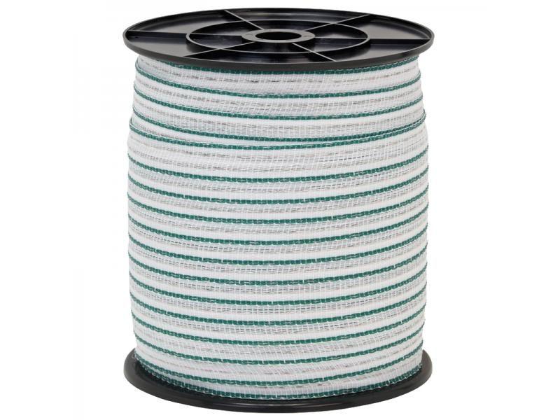 Páska 20mm nerez 2x0,3 200m zeleno - biela
