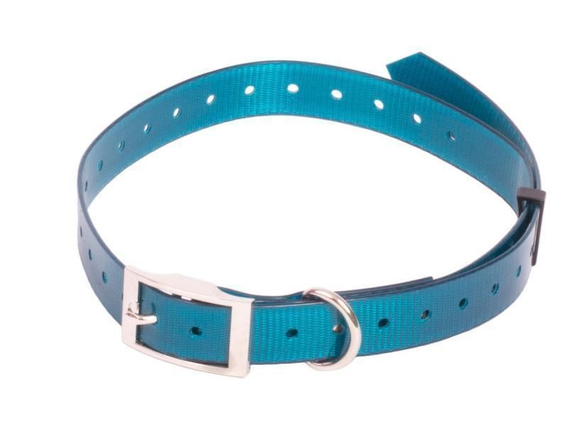 Plastový obojok modrý 20 mm x 70 cm (mini)