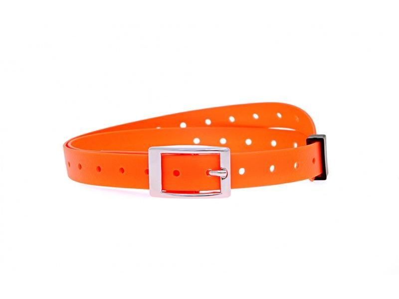 Plastový obojok oranžový 15 mm x 70 cm