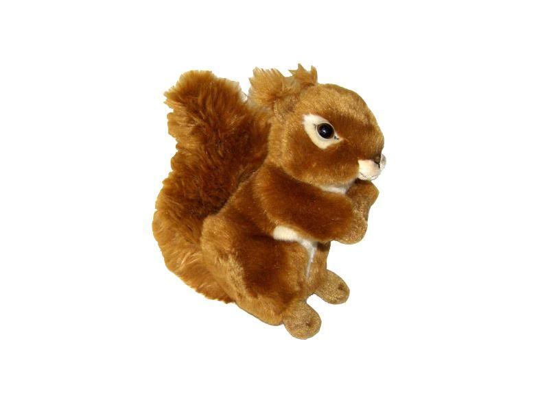 Plyšová hračka - Veverička