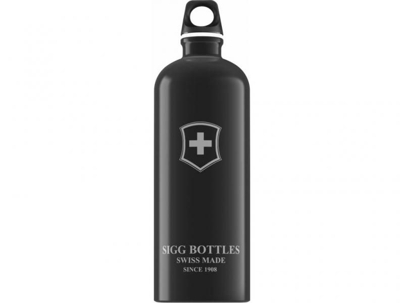 Fľaša SIGG Emblem Black 1,0 L