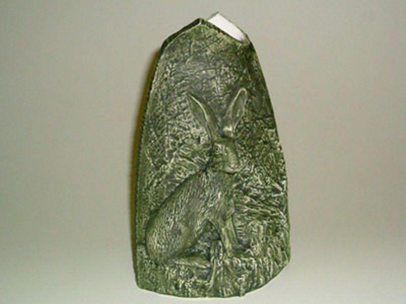 Zelená váza malá zajac
