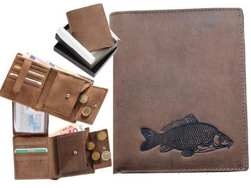 Kožená peňaženka kapor vysoká