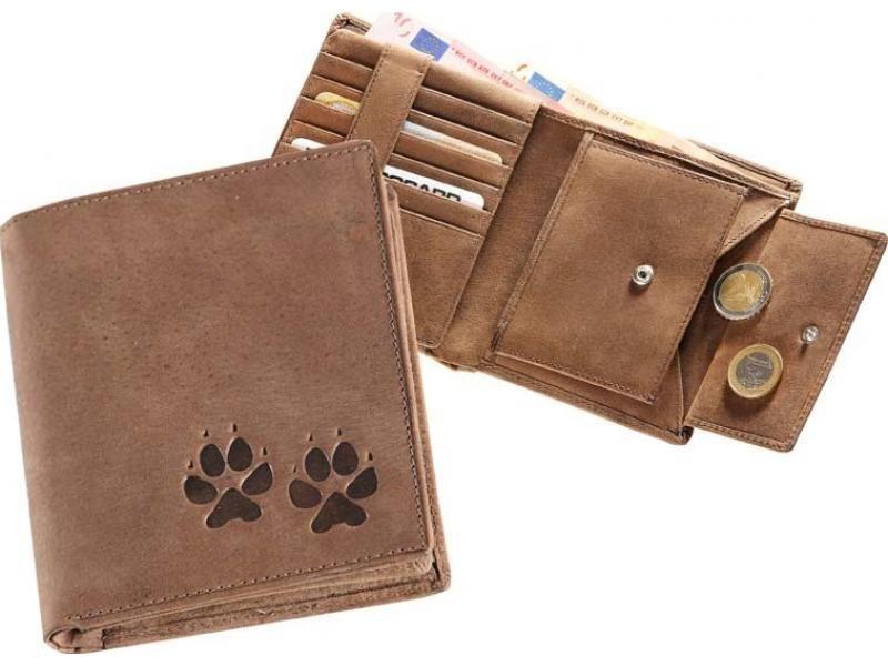 Kožená peňaženka packy vysoká