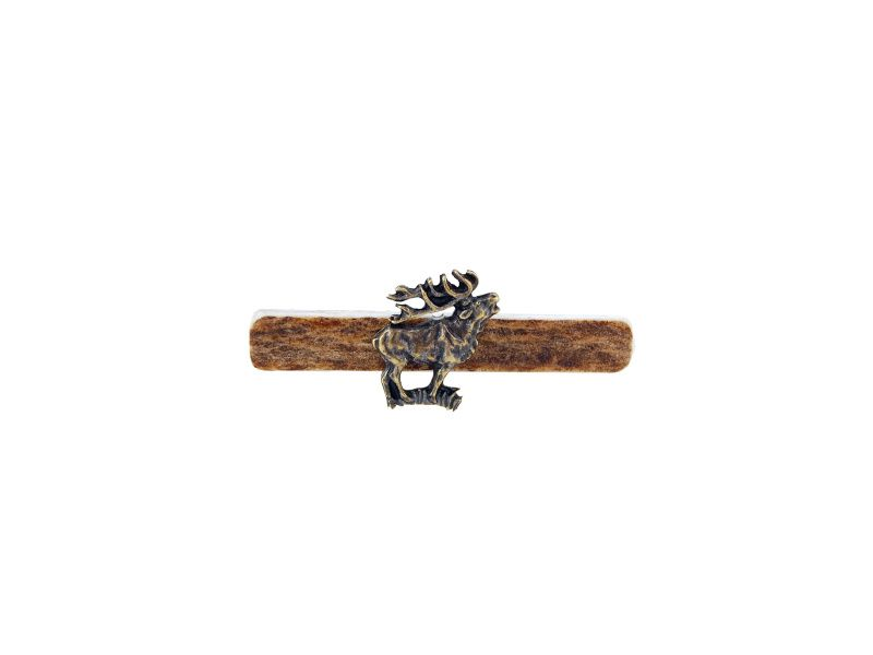 Kravatová spona - jeleň postava