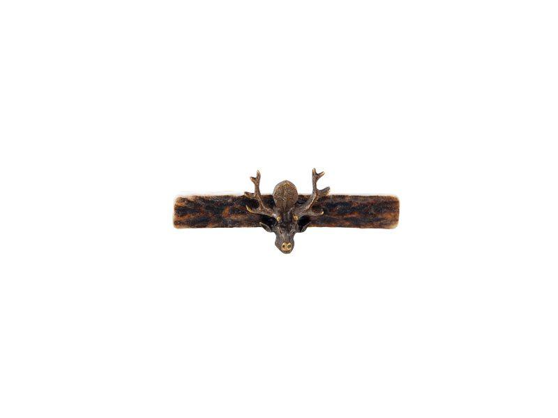 Kravatová spona - svätý Hubert