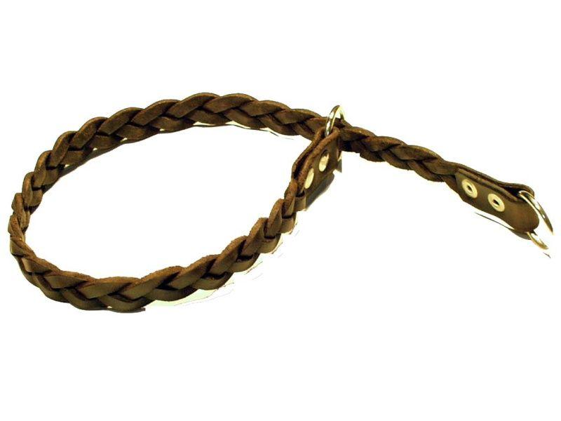 Obojok pletený sťahovací - dĺžka 40cm