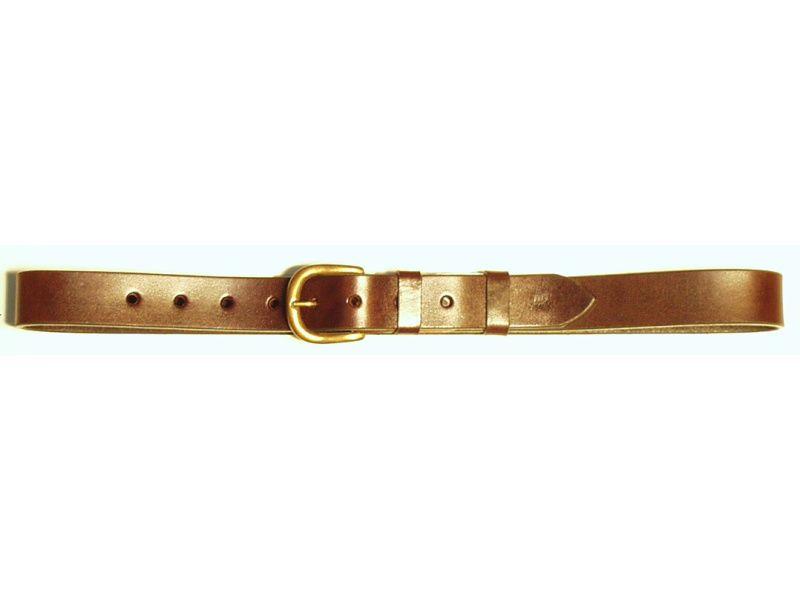Opasok kožený 3 cm   - hladký