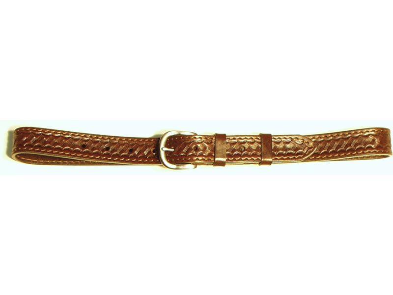 Opasok kožený 3 cm   - zdobený
