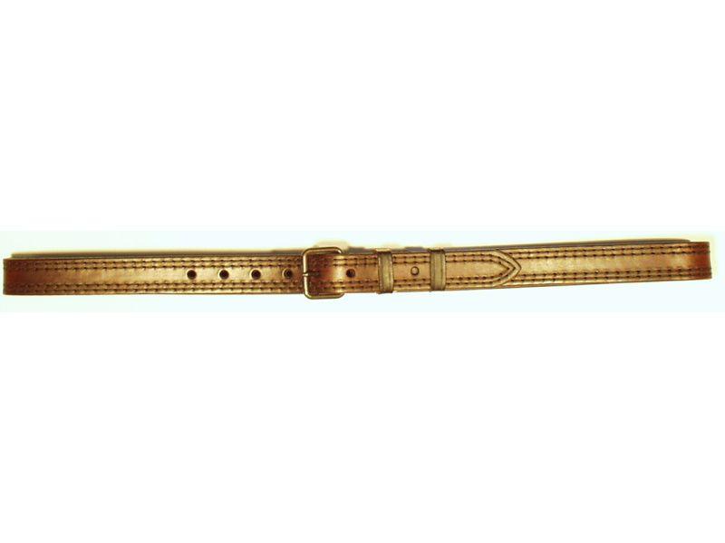 Opasok kožený 3 cm, šírka  opasku 4,5mm