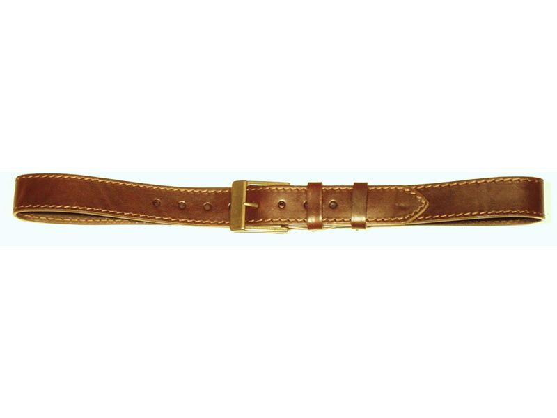 Opasok kožený 4 cm   - 1x prešitý