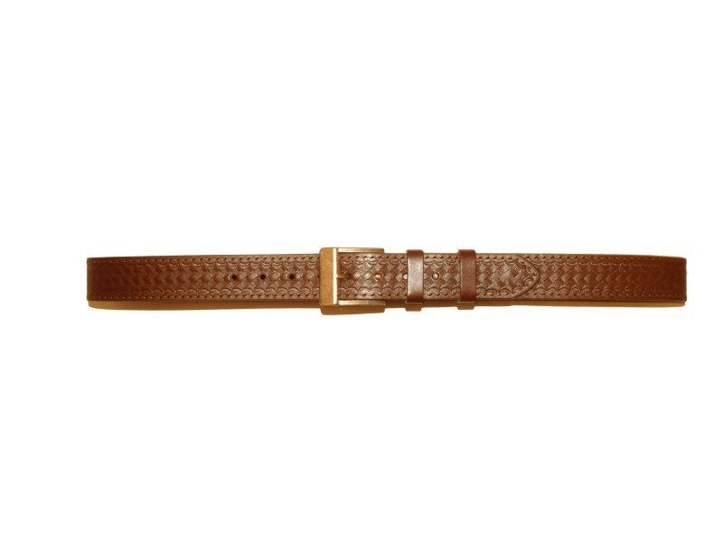 Opasok kožený 4 cm   - zdobený