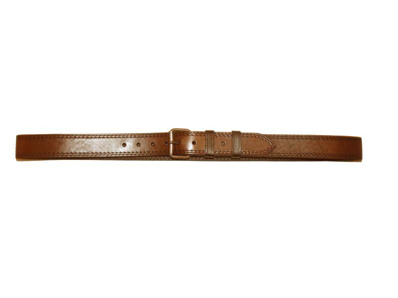 Opasok kožený 4 cm, šírka opasku 4,5mm