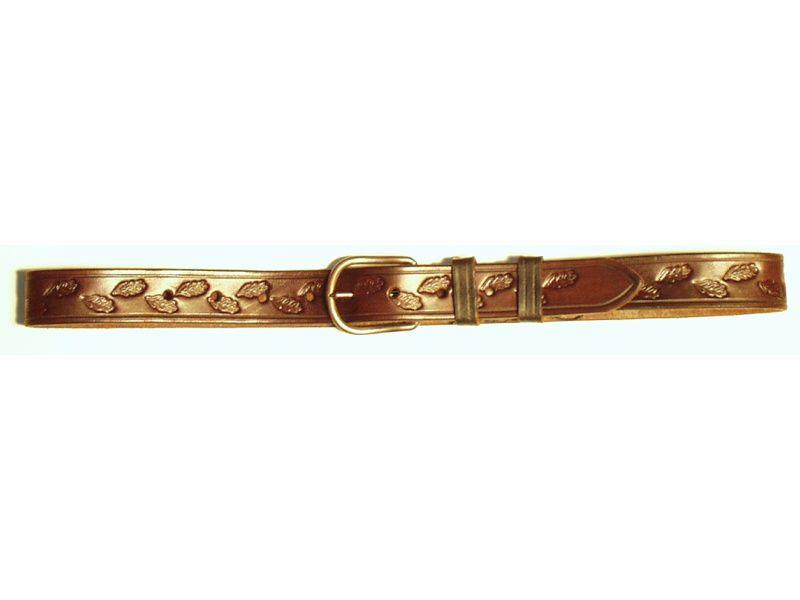 Opasok kožený poľovnícky 3 cm