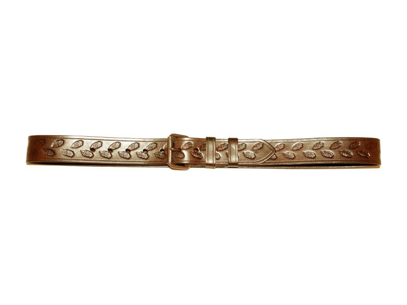 Opasok kožený poľovnícky 4 cm
