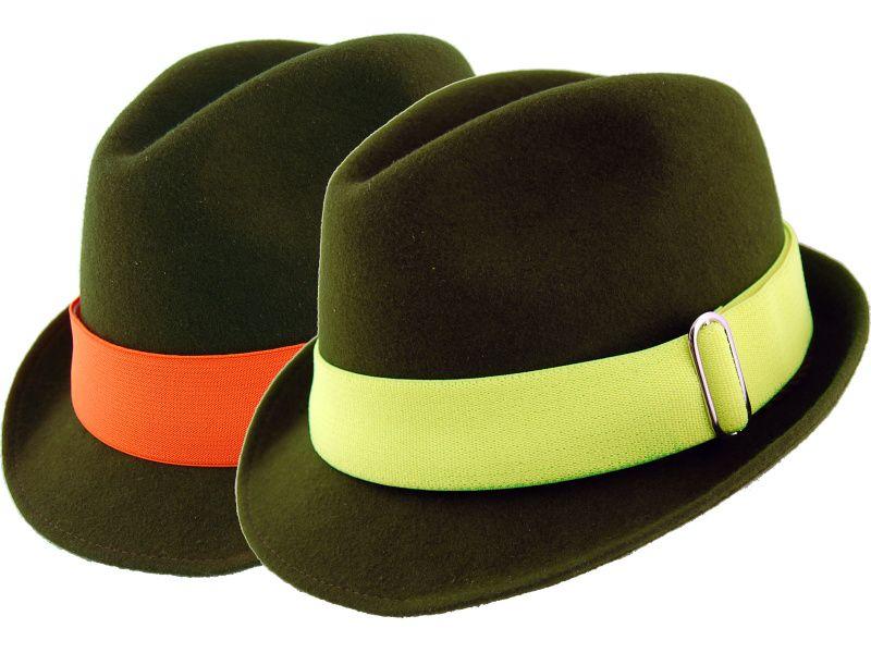 Pásik na klobúk reflexný