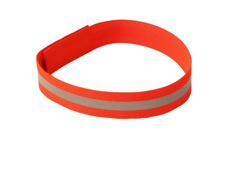 Reflexný obojok s páskom - dĺžka 65cm