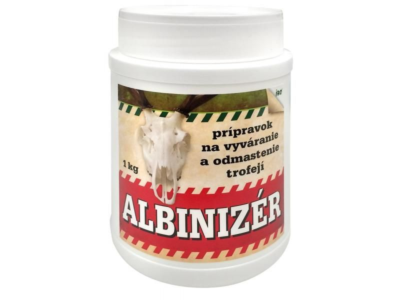 ALBINIZER - prípravok na vyváranie a odmasťovanie trofejí 500g