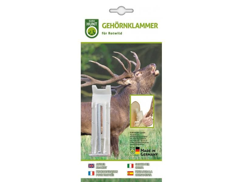 Montážna skrutka na uchytenie jelenej trofeje 1 ks