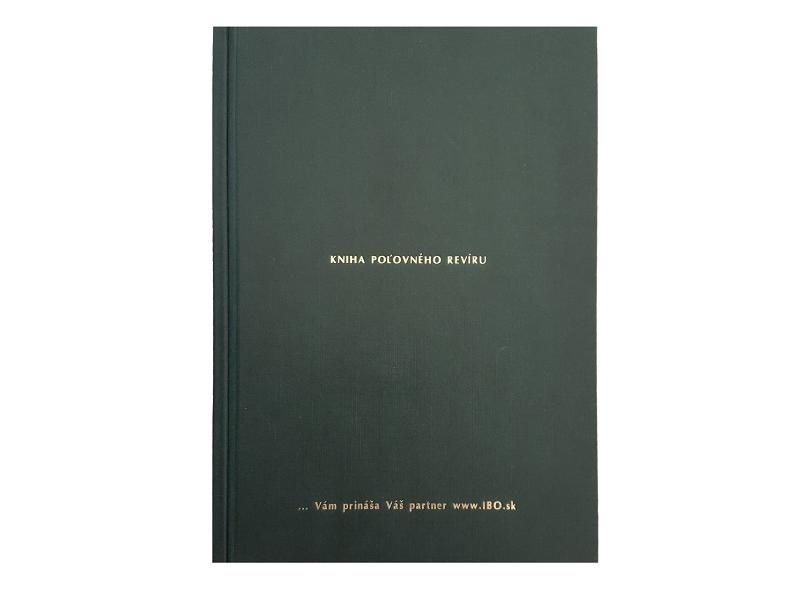 Kniha návštev poľovného revíru A4 IBO