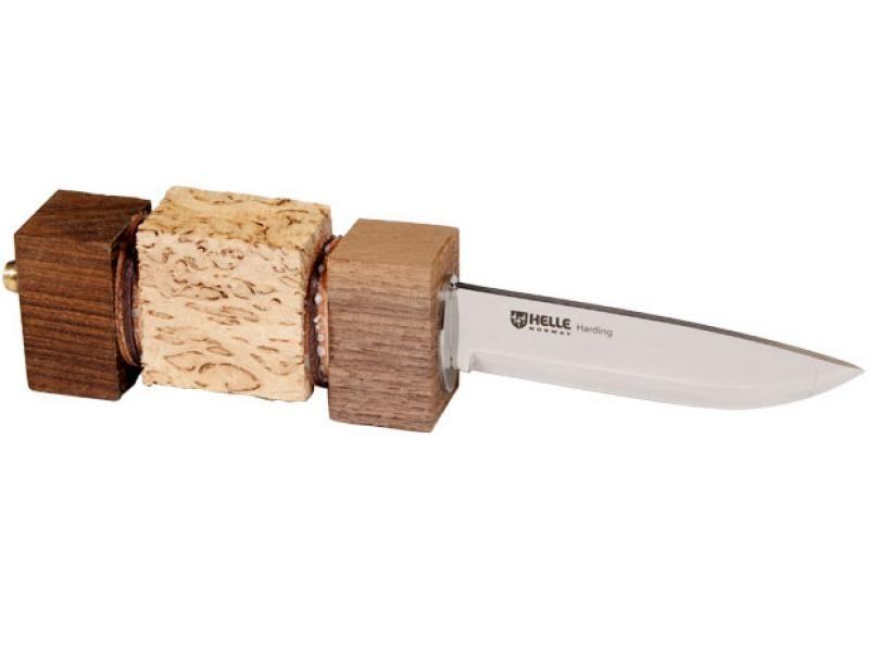 Poľovnícky nôž Helle Harding partly finished
