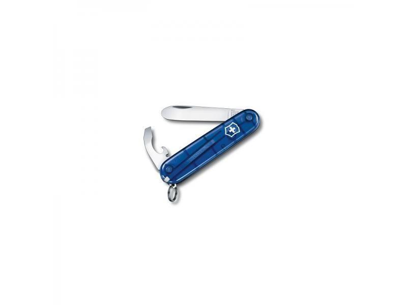 Detský vreckový nôž Victorinox My First - 8 funkcií modrý priehľadný