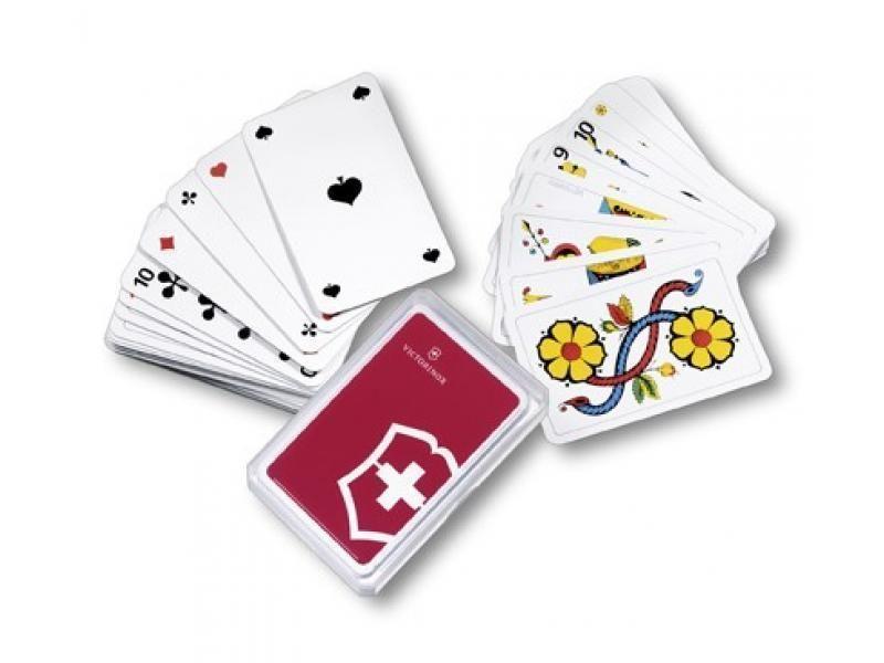 Sedmové hracie karty Victorinox