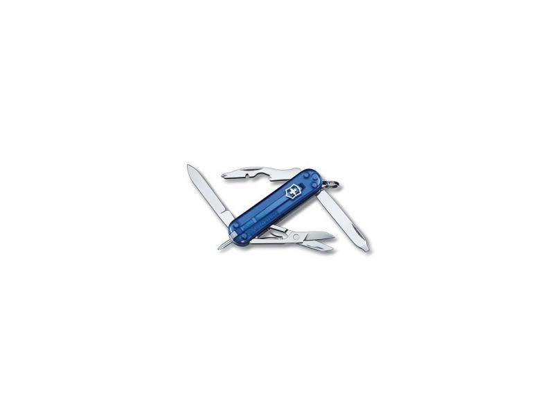 Vreckový nôž Victorinox Manager Sapphire - 10 funkcií modrý priehľadný