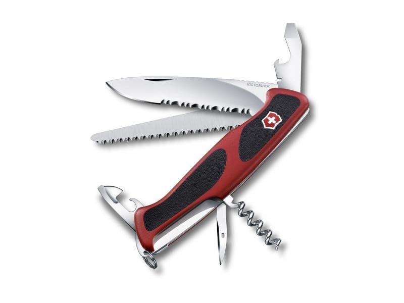 Vreckový nôž Victorinox Rangergrip 155 - 12 funkcií