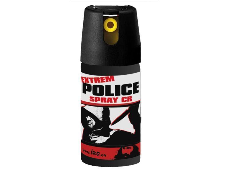 Obranný sprej - kaser Extrém Police Spray CR 50ml