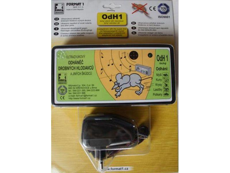 El.odpudzovač hlodavcov ODH1 tichý+adaptér