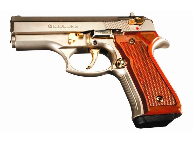 Obranná plynová pištoľ EKOL Dicle Fume Gold