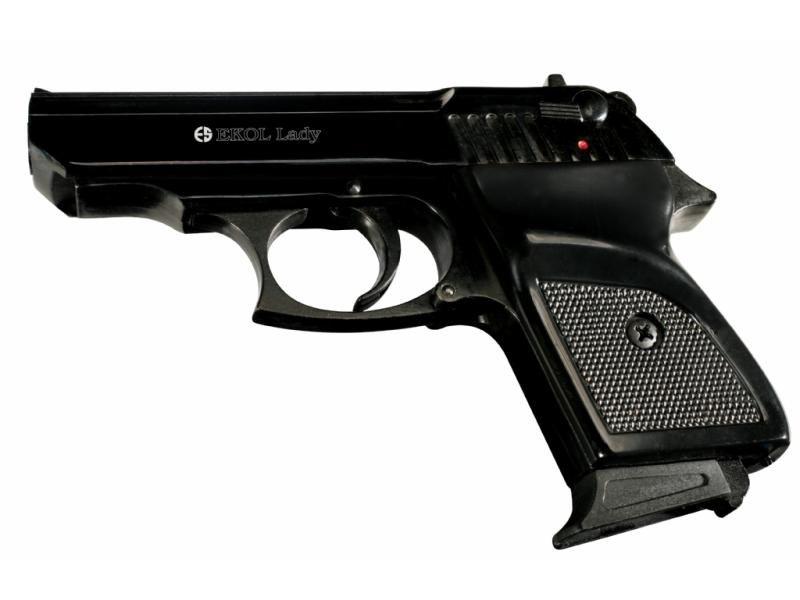 Obranná plynová pištoľ EKOL Lady Black