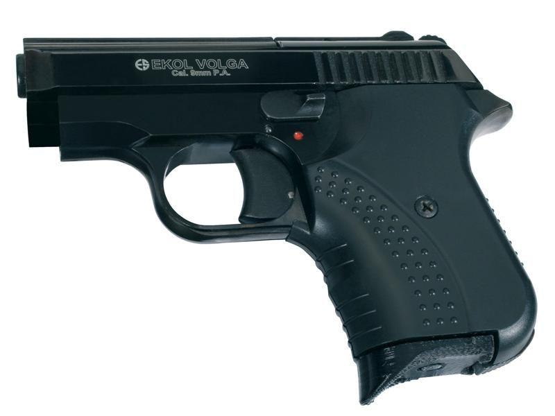 Obranná plynová pištoľ EKOL Volga Agent Black