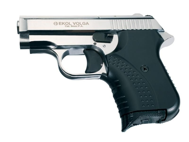 Obranná plynová pištoľ EKOL Volga Agent Shiny Chrome