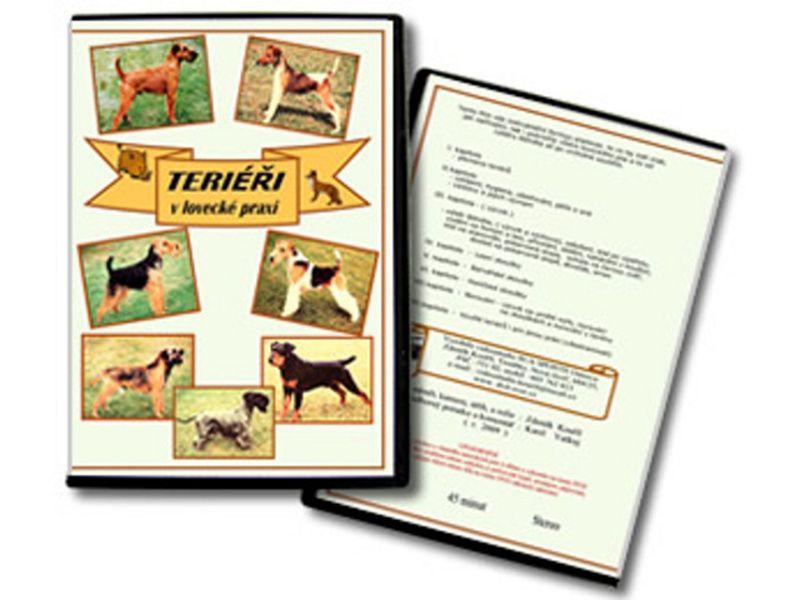 DVD - Teriéry v loveckej praxi