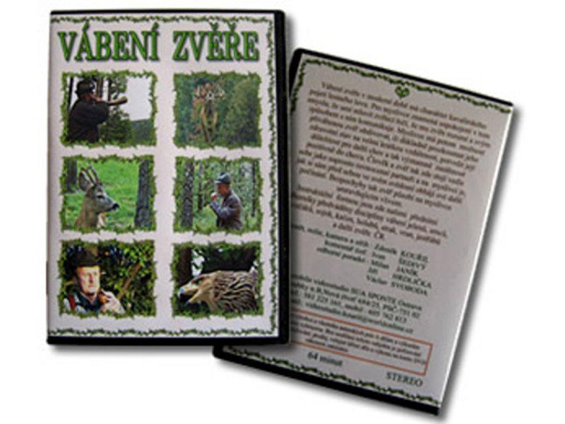 DVD - Vábenie zveri, jeleň, diviak, kačica, holub,