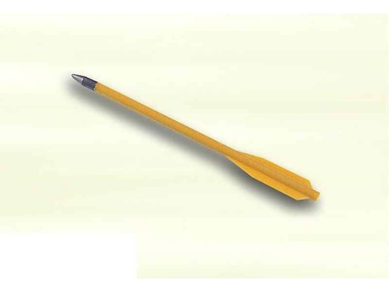Plastový šíp s kovovou špicou 15 cm
