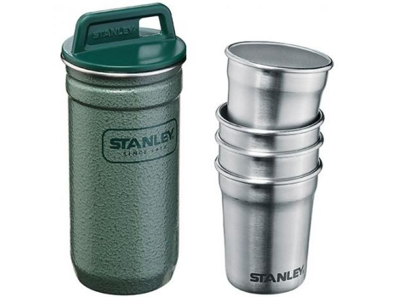 STANLEY sada zelených pohárikov 4ks