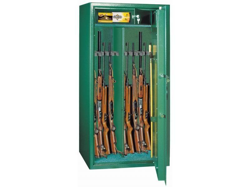 Trezor na zbrane Guntronic 10 - na 10 zbraní