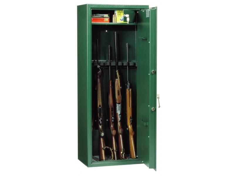 Trezor na zbrane Hubertus WF 140 E5 MC Premium na 5 zbraní