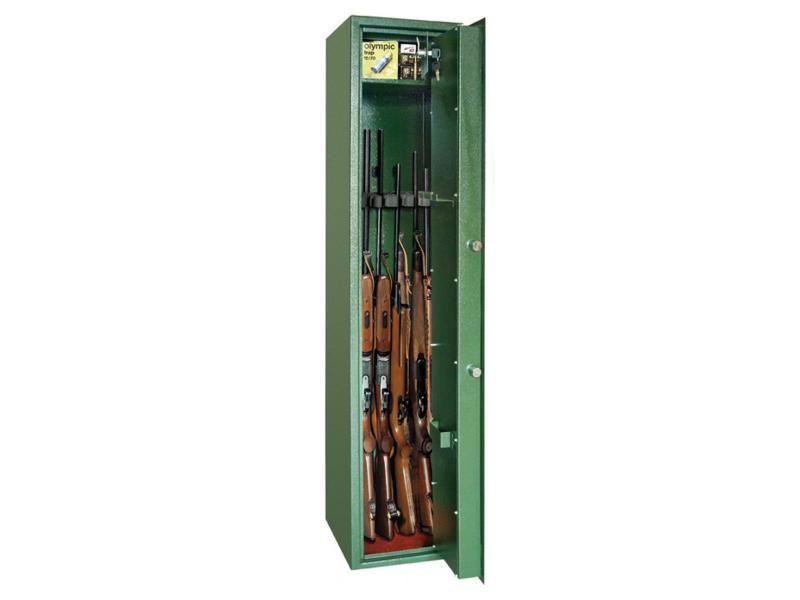 Trezor na zbrane MONTANA 5 - na 5 zbraní