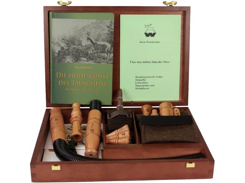Prémiová darčeková sada vábničiek Weisskirchen v drevenej kazete