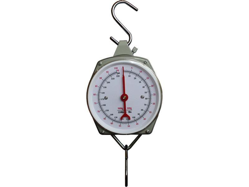 Guľatá závesná váha Eurohunt s ciferníkom do 100kg