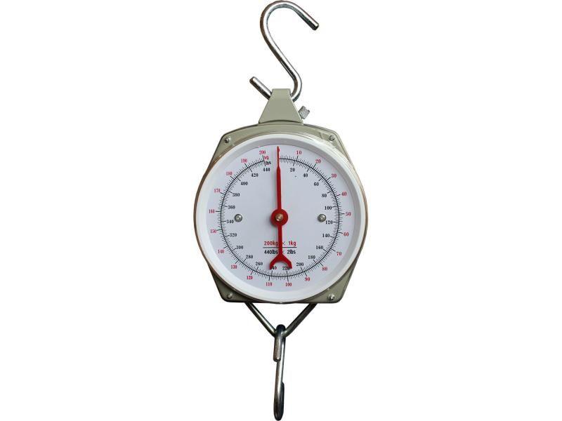 Guľatá závesná váha Eurohunt s ciferníkom do 200kg